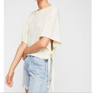 NWT Free People We The Free Open Side Tee